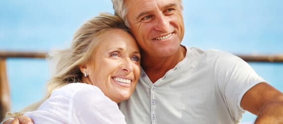 Couple After Getting a Dental Implants